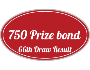 750 Prize bond 66th Draw 15th April 2016 Result