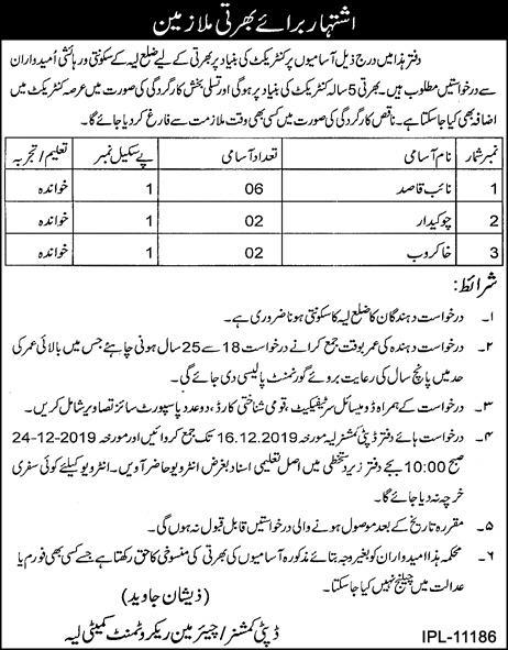 Deputy Commissioner Office Layyah Jobs